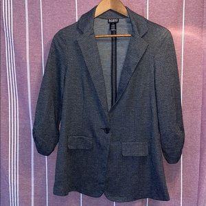 Soho single button front blazer